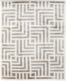 Maze Matta 250X300 Äkta Modern Handknuten Beige/Ljusgrå Stor ( Indien)