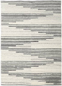 Zennia Rug 250X350 Authentic  Modern Handwoven Light Grey/Dark Beige Large (Wool, India)