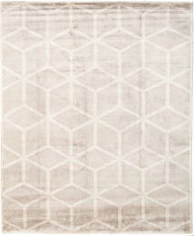 Facets Rug 250X300 Authentic  Modern Handknotted Light Grey/Beige Large ( India)