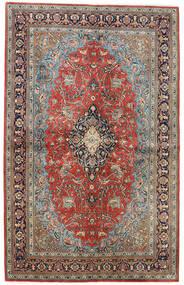 Sarough Matta 133X211 Äkta Orientalisk Handknuten Mörkgrå/Ljusgrå (Ull, Persien/Iran)