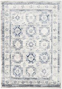 Menara Everyday - Γκρι/Μπλε Χαλι 160X230 Σύγχρονα Ανοιχτό Γκρι/Λευκό/Κρεμ ( Τουρκικά)