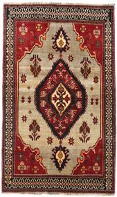 Kaszkaj Dywan 127X214 Orientalny Tkany Ręcznie Ciemnoczerwony/Ciemnobrązowy (Wełna, Persja/Iran)