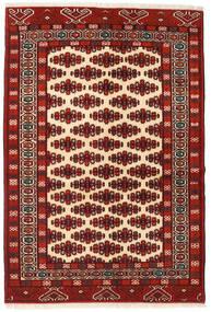 Turkaman Rug 134X198 Authentic  Oriental Handknotted Dark Red/Dark Brown (Wool, Persia/Iran)