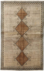 Qashqai Rug 143X225 Authentic Oriental Handknotted Light Grey/Light Brown (Wool, Persia/Iran)