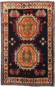 Ghashghai Matto 148X227 Itämainen Käsinsolmittu Musta/Tummanruskea (Villa, Persia/Iran)