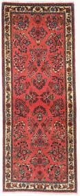 サルーク 絨毯 77X198 オリエンタル 手織り 廊下 カーペット 深紅色の/濃い茶色 (ウール, ペルシャ/イラン)