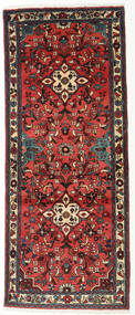 Rudbar Vloerkleed 77X190 Echt Oosters Handgeknoopt Tapijtloper Donkerrood/Zwart (Wol, Perzië/Iran)