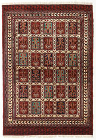 Turkaman Rug 105X152 Authentic Oriental Handknotted (Wool, Persia/Iran)