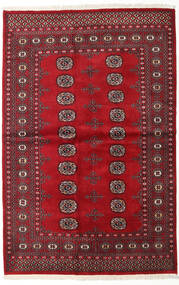 Pakistan Bokhara 2Ply Rug 138X210 Authentic Oriental Handknotted Dark Red/Crimson Red (Wool, Pakistan)
