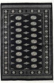 Pakistan Bokhara 2Ply Rug 135X202 Authentic  Oriental Handknotted Black/Dark Grey (Wool, Pakistan)