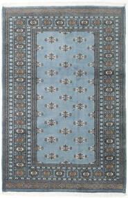 Pakistan Bokhara 2Ply Matto 125X188 Itämainen Käsinsolmittu Tummanharmaa/Vaaleansininen/Vaaleanharmaa (Villa, Pakistan)