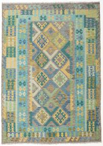 Kilim Afgán Old Style Szőnyeg 210X297 Keleti Kézi Szövésű (Gyapjú, Afganisztán)