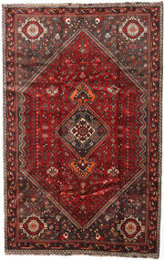 Shiraz Rug 174X269 Authentic  Oriental Handknotted Dark Red/Dark Brown (Wool, Persia/Iran)