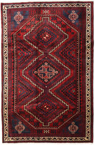Lori Matta 176X266 Äkta Orientalisk Handknuten Mörkröd (Ull, Persien/Iran)
