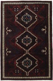 Lori Dywan 166X256 Orientalny Tkany Ręcznie Ciemnobrązowy/Ciemnoczerwony (Wełna, Persja/Iran)