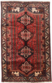 Shiraz Matta 155X256 Äkta Orientalisk Handknuten (Ull, Persien/Iran)