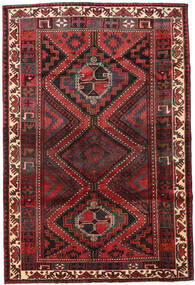 Lori Rug 171X255 Authentic  Oriental Handknotted Dark Red/Dark Brown (Wool, Persia/Iran)