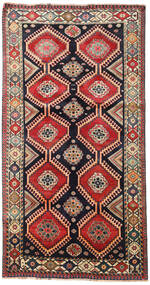 Shiraz Rug 149X282 Authentic  Oriental Handknotted (Wool, Persia/Iran)