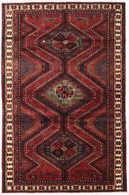 Lori Matta 161X248 Äkta Orientalisk Handknuten Mörkröd/Svart (Ull, Persien/Iran)