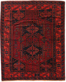 Lori Rug 168X208 Authentic  Oriental Handknotted Dark Red/Rust Red (Wool, Persia/Iran)