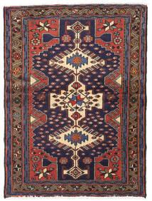 Hamadan Rug 100X134 Authentic  Oriental Handknotted (Wool, Persia/Iran)