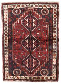 Shiraz Rug 113X154 Authentic  Oriental Handknotted (Wool, Persia/Iran)