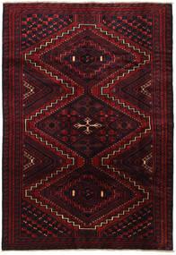 Lori Rug 185X267 Authentic Oriental Handknotted Dark Red (Wool, Persia/Iran)