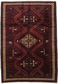 Lori Rug 190X270 Authentic  Oriental Handknotted Dark Brown/Dark Red (Wool, Persia/Iran)