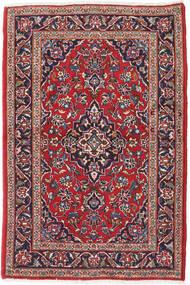 Keshan Rug 100X152 Authentic Oriental Handknotted Dark Red/Dark Purple (Wool, Persia/Iran)