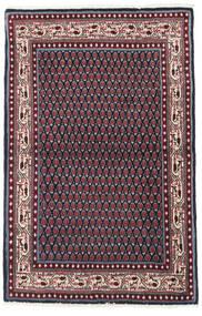 Saruk Mir Tappeto 97X151 Orientale Fatto A Mano Nero/Rosso Scuro (Lana, Persia/Iran)