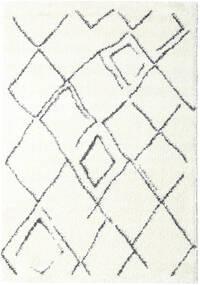 Shaggy Medina Everyday Dywan 100X160 Nowoczesny Biały/Creme/Beżowy ( Turcja)