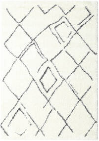 Shaggy Medina Everyday Rug 100X160 Modern White/Creme/Beige ( Turkey)
