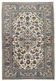 Keshan Tappeto 102X150 Orientale Fatto A Mano Grigio Scuro/Grigio Chiaro (Lana, Persia/Iran)