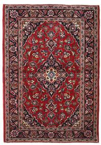 Keszan Dywan 102X147 Orientalny Tkany Ręcznie Ciemnoczerwony/Ciemnobrązowy (Wełna, Persja/Iran)