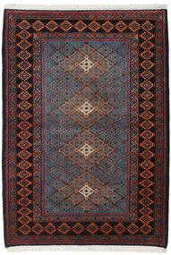 Taleghan Tæppe 112X157 Ægte Orientalsk Håndknyttet (Uld, Persien/Iran)