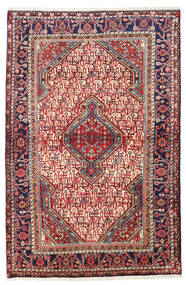 Sarouk Rug 111X165 Authentic  Oriental Handknotted Dark Red/Rust Red (Wool, Persia/Iran)