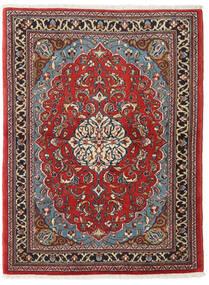 Sarough Teppe 110X145 Ekte Orientalsk Håndknyttet (Ull, Persia/Iran)