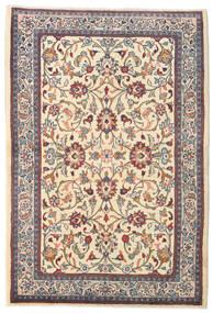 Sarough Koberec 105X155 Orientální Ručně Tkaný Béžová/Tmavě Hnědá (Vlna, Persie/Írán)