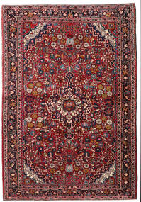 Keszan Dywan 110X162 Orientalny Tkany Ręcznie Ciemnoczerwony/Ciemnobrązowy (Wełna, Persja/Iran)