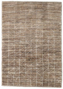 Loribaft Persia Rug 110X155 Authentic  Modern Handknotted Light Grey/Brown (Wool, Persia/Iran)