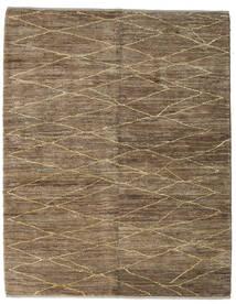 Loribaft ペルシャ 絨毯 152X192 モダン 手織り 薄茶色/茶/薄い灰色 (ウール, ペルシャ/イラン)