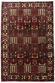 Bakhtiar Tæppe 205X311 Ægte Orientalsk Håndknyttet Mørkebrun/Mørkerød (Uld, Persien/Iran)