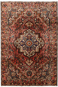 Bakhtiari Rug 207X298 Authentic  Oriental Handknotted Dark Brown/Dark Red (Wool, Persia/Iran)