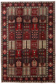 Bakhtiar Tæppe 205X303 Ægte Orientalsk Håndknyttet Mørkebrun/Mørkerød (Uld, Persien/Iran)