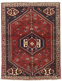 Shiraz Vloerkleed 87X110 Echt Oosters Handgeknoopt (Wol, Perzië/Iran)