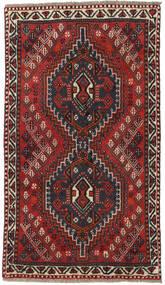 Shiraz Tæppe 73X129 Ægte Orientalsk Håndknyttet (Uld, Persien/Iran)