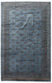 Pakistan Bokhara 3Ply Vloerkleed 200X315 Echt Oosters Handgeknoopt Donkergrijs/Donkerblauw/Blauw (Wol, Pakistan)