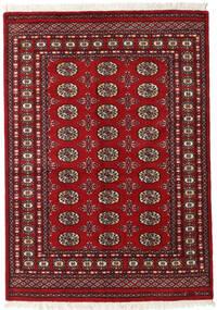 Pakistański Bucharski 2Ply Dywan 130X183 Orientalny Tkany Ręcznie Ciemnoczerwony/Czerwony (Wełna, Pakistan)