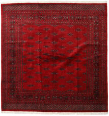Pakistan Bokhara 3Ply Rug 200X205 Authentic  Oriental Handknotted Square Dark Red/Crimson Red (Wool, Pakistan)