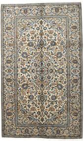 Keshan Tæppe 150X247 Ægte Orientalsk Håndknyttet Mørkegrå/Lysegrå (Uld, Persien/Iran)